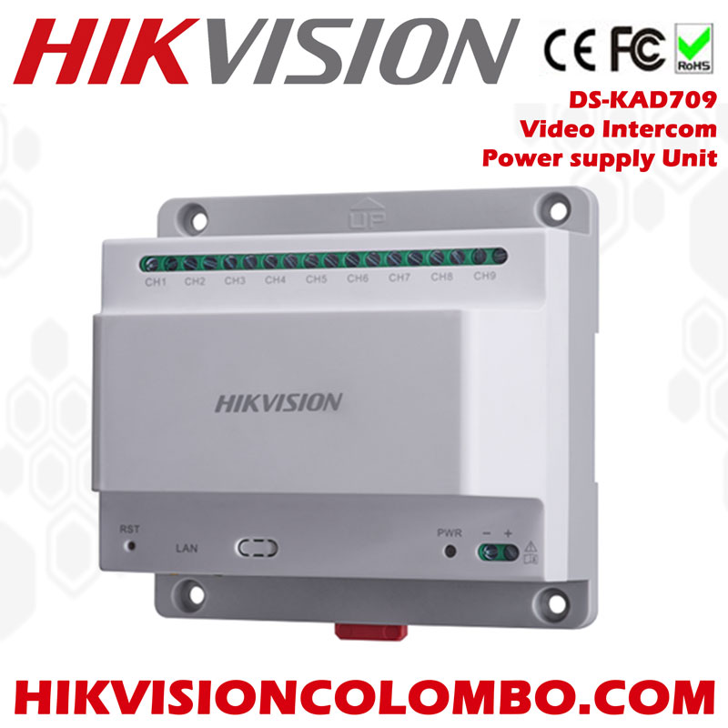 Hikvision DS-KAD709 2-Wire Video / Audio Distributor & Video