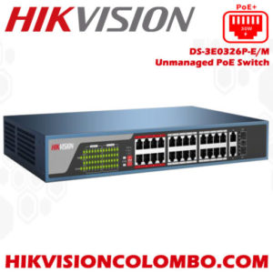 DS-3E0326P-EM-hikvision poe switch sri lanka