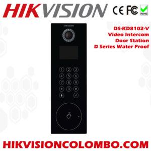 DS-KD8102-VVideo-Intercom-D-Series-Water-Proof-Door-Station