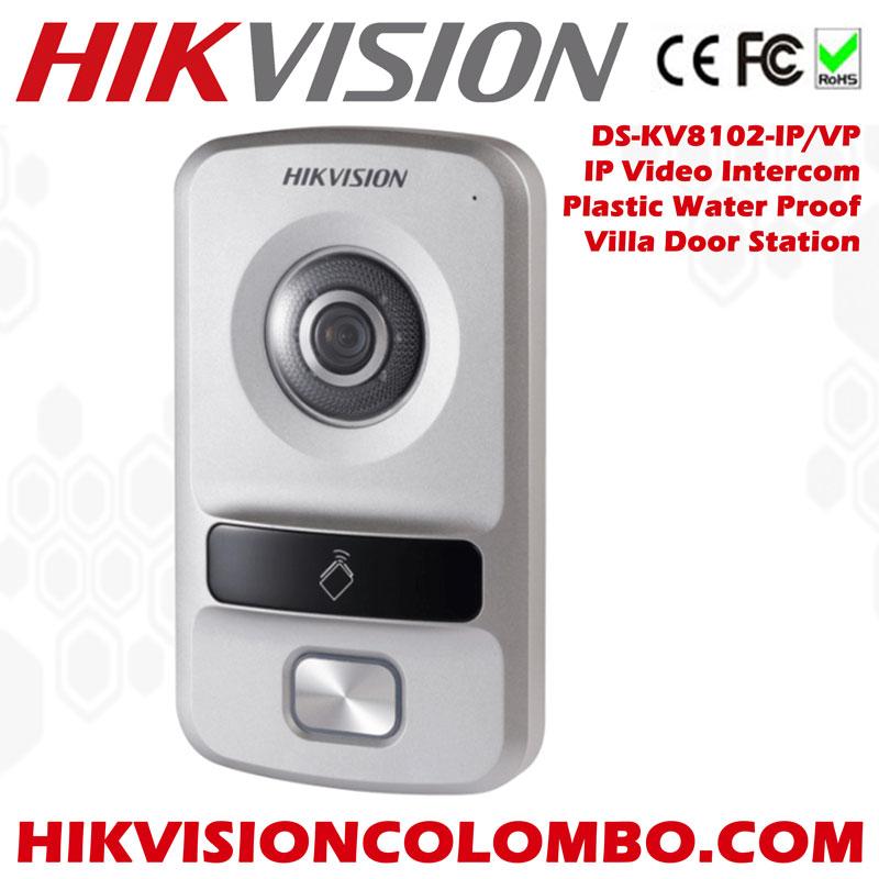 Hikvision DS-KV8102-IM Water Proof Metal Villa Door Station Video Intercom