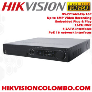 Hikvision-DS-7716NI-E4-16P-Embedded-Plug-&-Play-16-channel-NVR-Network-Video-Recorder-best-srilanka