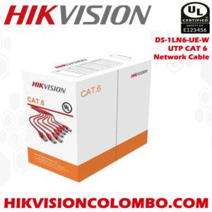 DS-1LN6-UE-W hikvision cat 6 network cable sri lanka