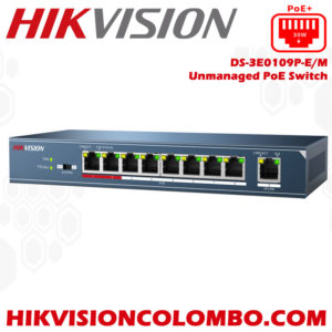 DS-3E0109P-E-M poe switch sri lanka hikvision colombo online store buy with offers