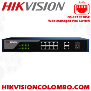 DS-3E1310P-E-Web-managed-PoE-Switch