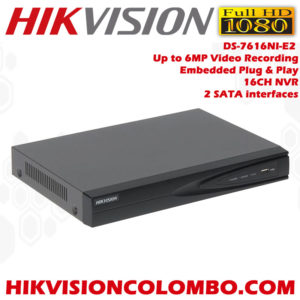 DS-7616NI-E2-Embedded-Plug-&-Play-16-channel-NVR-Network-Video-Recorder-sale-in-Sri-Lanka