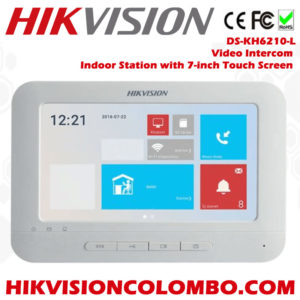 DS-KH6210-L-Video-Intercom-Indoor-Station-with-7-inch-Touch-Screen