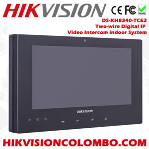 DS-KH8340-TCE2-2-Wire-Indoor-Station