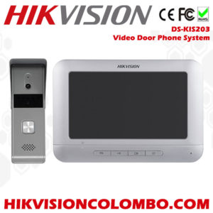 DS-KIS203 hikvision video door phone system both in and out door set