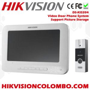 DS-KIS204 video door phone system sri lanka best brand