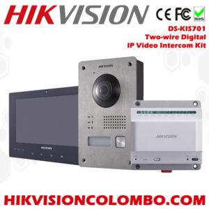 DS-KIS701 2 wire video intercom sri lanka sale
