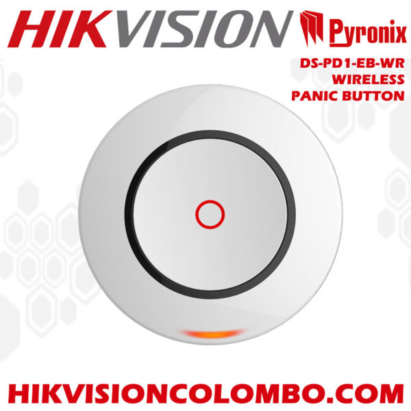 DS-PD1-EB-WR wireless panic button sri lanka hikvision