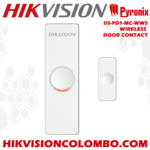 DS-PD1-MC-WWS wireless door - window magnetic contact hikvision sri lanka