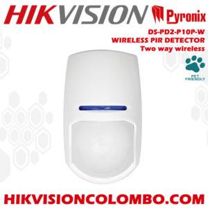 DS-PD2-P10P-W wireless pir sensor indoor hikvision sri lanka