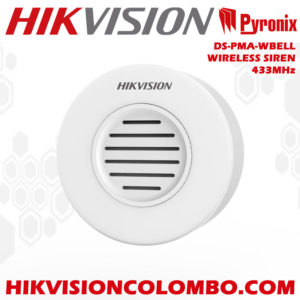 DS-PMA-WBELL wireless siren sri lanka hikvision