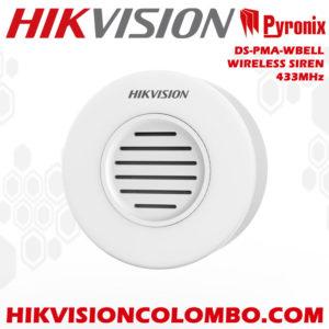 DS-PMA-WBELL wireless siren sri lanka hikvision
