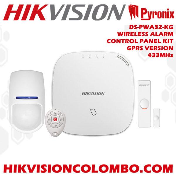 DS-PWA32-KG hikvision wireless alarm control panel srilanka