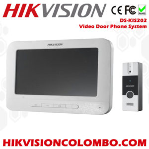 Hikvision-DS-KIS202-Video-Door-Phone-System