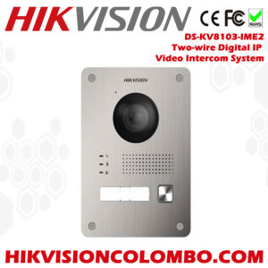 Hikvision-DS-KV8103-IME2-Two-wire-Digital-IP-Video-Intercom-System