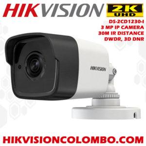 DS-2CD1230-I hikvision sri lanka ip camera best price