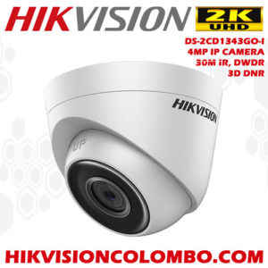 DS-2CD1343GO-I ip camera 4mp full hd high quality cctv camera sri lanka