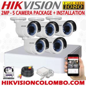 5-camera-packages-1080P 25% off sri lanka cctv