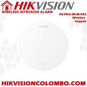 DS-PKA-WLM-433-wireless-keypad hikvision alarm Price in Sri Lanka