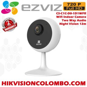Ezviz, CS-C1C-D0-1D1WFR, 720P HD, Smart Wifi Indoor,wifi Camera best Price Sri Lanka, 2 years warranty for all ezviz, 1d1 ezviz, ezviz sri lanka, best price ezviz, 2 way audio indoor wifi cctv