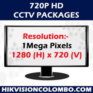 720P HD (1 Mega Pixel) CCTV Systems
