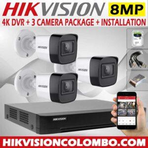 hikvision-4k-DVR-with-8mp-3-cctv-camera--price-with-installation-sri-lanka