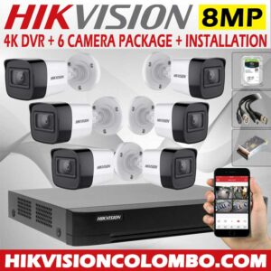 hikvision-4k-DVR-with-8mp-6-cctv-camera--price-with-installation-sri-lanka