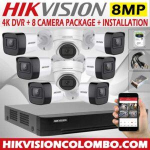 hikvision-4k-DVR-with-8mp-8-cctv-camera--price-with-installation-sri-lanka